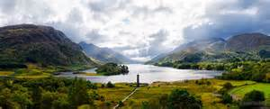 The Glenfinnan Monument and Loch Shiel in the background in Scotland Picture courtesy of dsphotographic.com