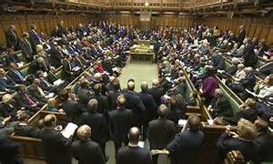 The House of Commons during prime minister's questions. Photograph: PA/ www.theguardian.com