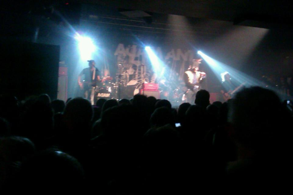Adam Ant & the Good, The Mad, & The Lovely Posse Review, Oxford, November 17th 2011 (4/5)