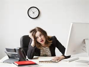 Work stressed woman Picture courtesy of galleryhip.com