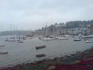 Kinsale Harbour's boats-a-bobbing taken by the author, Darren Greenidge