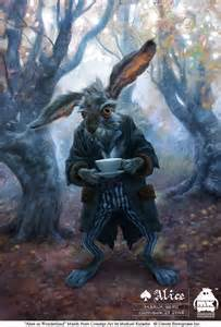 Mad March Hare courtesy of michaelkutsche.deviantart.com