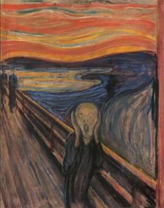 The Scream courtesy of http://www.edvard-munch.com/index1.htm