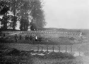 Graves of the Somme. Picture courtesy of http://www.ww1battlefields.co.uk/somme.html