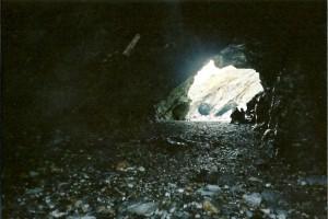 Merlin's Cave, Tintagel, Cornwall Taken by the author, Darren Greenidge
