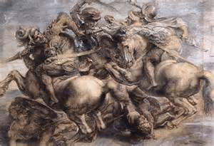 Peter Paul Rubens's copy of The Battle of Anghiari