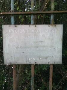 Iron Age Burial Mound, circa 1700BC in Hemel Hempstead
