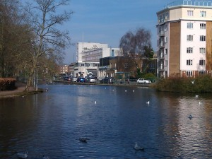 River Gade and Water Gardens of Hemel Hempstead