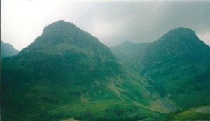 Three Sisters, Glencoe, Scotland