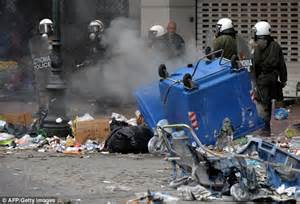 Athens Protest Riots