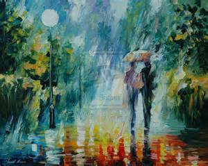 SUMMER RAIN - AFREMOV by Leonidafremov
