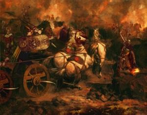 The Battle Fury of Cú Chulainn