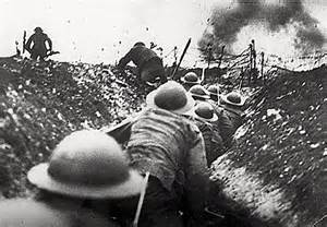 The Battle of the Somme Trenches