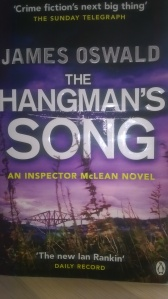 The Hangman's Song by James Oswald (front)