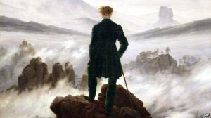 Caspar David Friedrich (1774-1840) Wanderer above the Sea of Fog