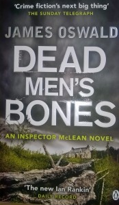 Dead Men's Bones by James Oswald (front cover)