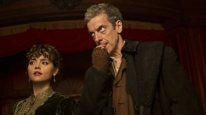 Picture shows: Clara (JENNA COLEMAN) and The Doctor (PETER CAPALDI). Picture courtesy of BBC TV Doctor Who
