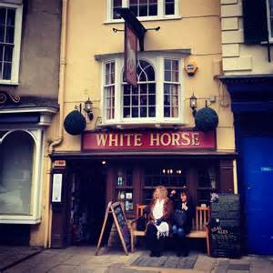White Horse Pub Broad Street Oxford