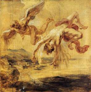 The Fall of Icarus by Peter Paul Rubens
