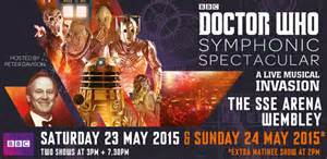 Doctor Who Symphonic Spectacular Sunday 24 May 2015 London nightlondon.co.uk