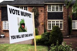 vote muppet