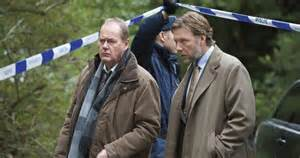 Martin Martin Beck (right) played by Peter Haber with  Mikael Persbrandt as Gunvald Larsson Picture courtesy of whatsonTV.co.uk