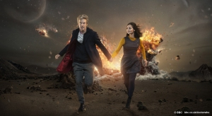 The Doctor and Clara in a promotional shot for series 35 (series 9 to newbies). Picture courtesy of the  BBC