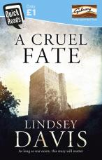 A Cruel Fate by Lindsey Davis courtesy of Quick Reads